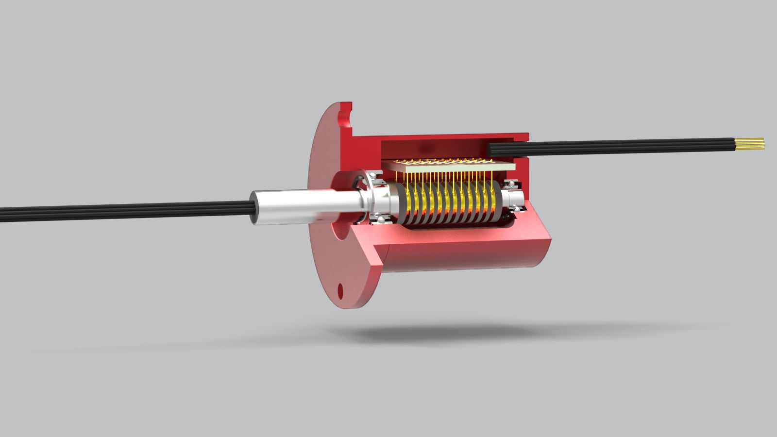 rotary systems sr010 slip ring inside view